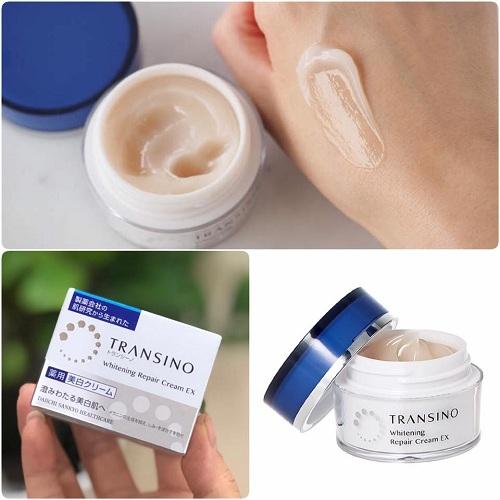 Kem dưỡng trắng da đặc trị nám đến từ thương hiệu Transino nội địa Nhật Bản