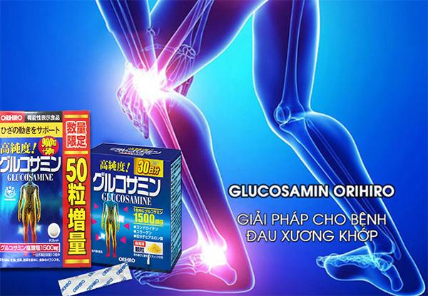 Glucosamine Orihiro Nhật Bản  nội địa giảm đau xương khớp