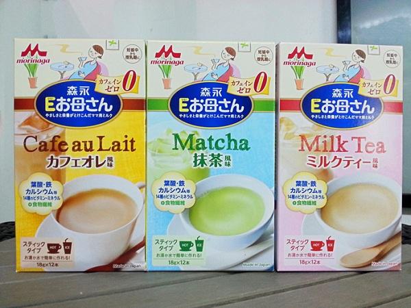 Các loại sữa bầu Morinaga