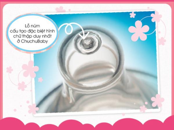 Bình sữa Chuchu nội địa Nhật thiết kế ưu việt